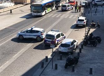 One dead after car runs into bus stops in Marseille