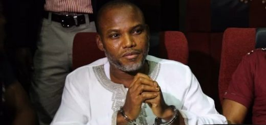 FG orders for the return of Nnamdi Kanu to prison