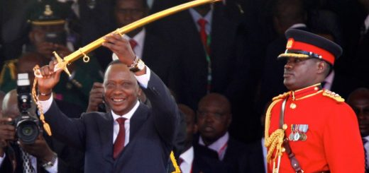 Uhuru Kenyatta Sworn in for a New Term President of Kenya