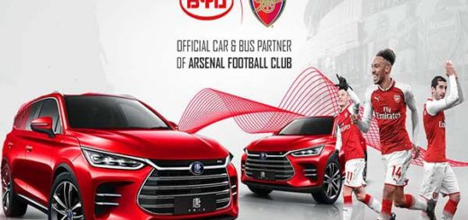 China's Auto Giants BYD Auto Become Arsenal's Official Vehicle Partner