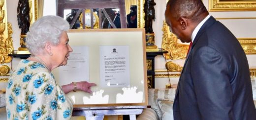 Queen Elizabeth II Receives President Cyril Ramaphosa of South Africa