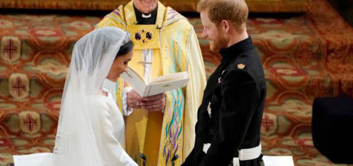Prince Harry and Meghan Markle Now Husband and Wife