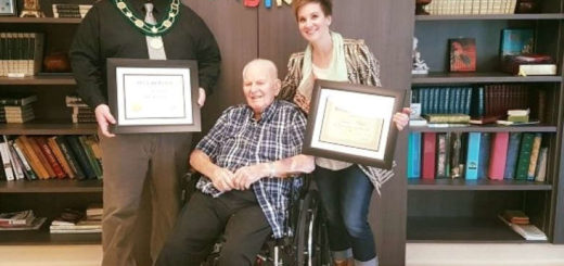 108-year-old Canadian Man says the trick to a long life having a good wife
