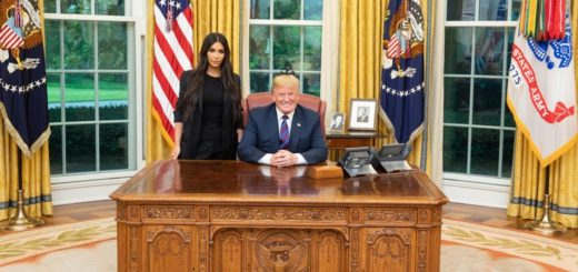 Kim Kardashian Visits President Trump at the White House And Discusses Prison Reform