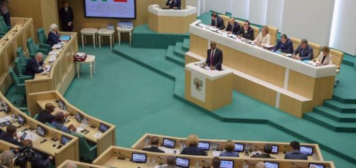 Nigerian Senate President Bukola Saraki Addresses Russian Parliament