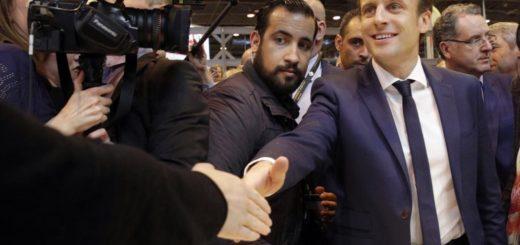 Close Aide of President Macron Accused of Battery in Police Helmet Beating Man (VIDEO)