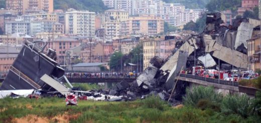At Least 22 People Killed After a Motorway Bridge Collapsed in Genoa, Italy