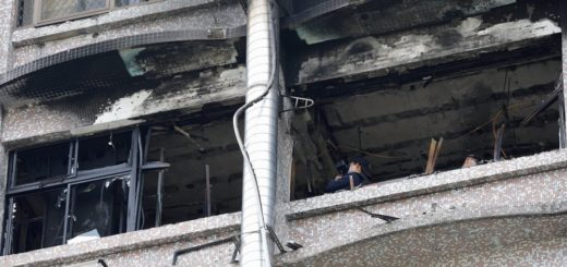 Fire Kills 9, Injures More Than a Dozen in Taiwan Hospital