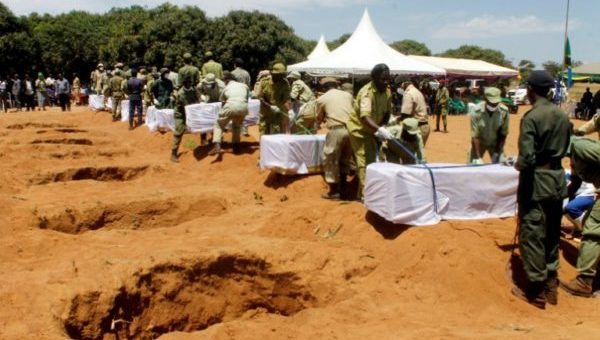 Tanzania Buries Victims Of Ferry Disaster