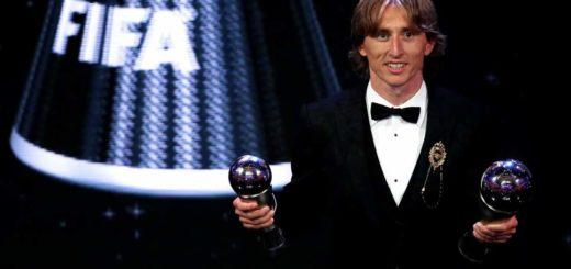 Modric Wins Best Male Footballer at #FIFAFootballAwards
