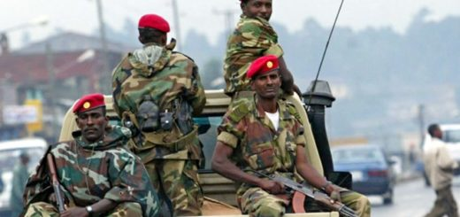 Intelligence Officers arrest 63 Military Officers For Corruption in Ethiopia